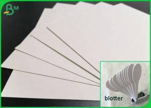 China Acid Free 0.4mm 0.6mm 0.8mm Thickness White Color Blotting Paper For Labs on sale