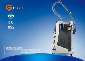 China Body Fat Reduce Cryolipolysis Slimming Machine 2 Handles 100 Kpa Negative Pressure Strength on sale