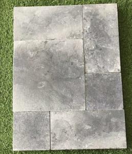 ... Quality Tumbled Blue Limestone TilesLight Grey Patio StonesWalkway PaversStone Floor ... & Tumbled Blue Limestone TilesLight Grey Patio StonesWalkway Pavers ...
