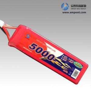China 25C au paquet élevé de batterie du taux Li-PO de la décharge 50C, batterie de R/C, batterie de début de saut on sale