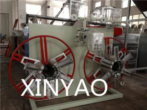 China Этап машины замотки трубы PE PVC PP пластмассы автоматический одиночный on sale