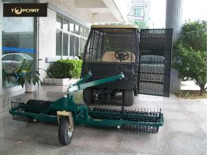 China Practical Electric Car Golf Cart , Fully Enclosed Golf Carts Two Seater To Pick Up on sale
