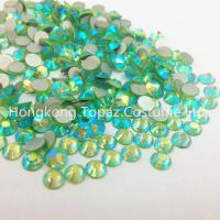 China Loose Stones SS20 Peridot AB non Hotfix Rhinestones China Made Nice Quality on sale