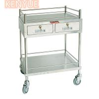 China Custom Mobile Medical Storage Icu Medicine Trolley Cart OEM Available on sale