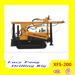 China China Hot Multi-function XFS-200 Mobile Hydraulic Water Well Borehole Drilling Rig on sale