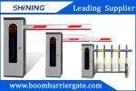 Vehicle Barrier Gates Auto Close 24VDC Motor Parking Lot Security Gates With LED Light
