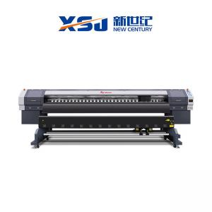 China DX5 Plotter 3.2m Eco Solvent Flex Printing Machine on sale
