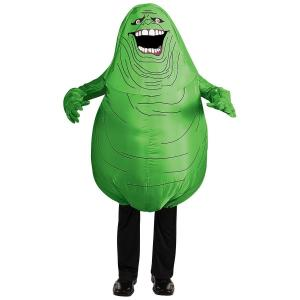 China Halloween Cosplay Baymax Red Adult Inflatable Costumes Slimer Ghost Costume on sale