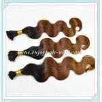 Большая часть волос малайзийца 5А девственная ремы, омбре естественное колор/33#/30#, объемная волна 10 - 26 длина