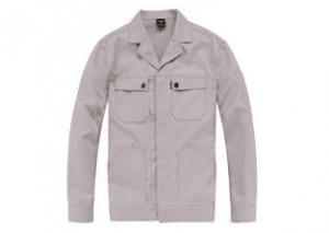 China Durable Work Coats Jackets With Long Sleeve , Scrub Mens Winter Work Coats Top on sale
