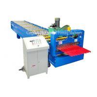 Garage Steel Roller Door Frame Roll Forming Machine , High Capacity