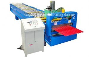 China Garage Steel Roller Door Frame Roll Forming Machine , High Capacity on sale