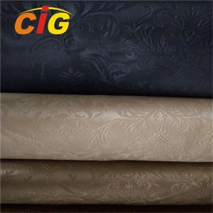 China Colorful PVC Artificial Leather Fabric For Handbag , PVC Synthetic Leather Scratch on sale