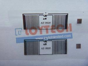 China RFID UHF Label Wet Inlay AZ9620 on sale