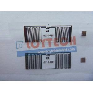 China RFID UHF Label Wet Inlay AZ9620 on sale
