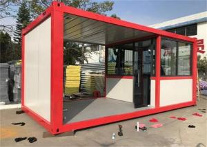 China 20FT  Prefab Container Homes , Metal Container Homes Commercial Use on sale