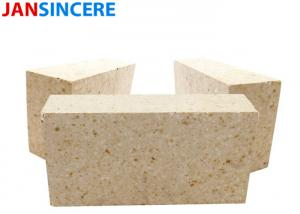 China Dry Pressed High Alumina Refractory Bricks High Temp Fire Brick Corrosion Resistance on sale