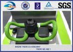 Clips elásticos de acero del carril con el pasador plástico para las sujeciones ferroviarias Vossloh SKL 14 W-14