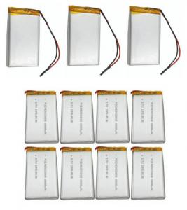 China Long Cycle Life Lithium Polymer Cell / Mobile Warming Battery With 8.5mm Thickness on sale