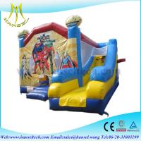 Hansel Top Quality Jungle Inflatable Bouncer for Backyard Party