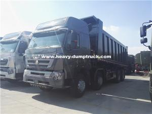 China HOWO A7 8x4 Heavy Duty Dump Truck With 420hp Engine And High Cabin Commercial Dump Trucks on sale