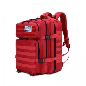 China Lightweight Packable Durable Travel Hiking Backpack Daypack Empty Red Medical Medium Transport Pack on sale
