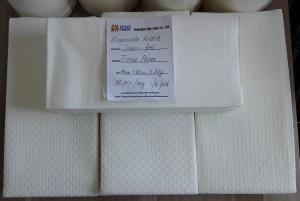 China Airlaid Paper Line Cloth Like Guest Hand Towels For Serving Areas / Lounges on sale