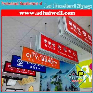 China Hanging Acrylic Sign Light Box for Airport Bus-Stop, Image Sign, Chain Store, Indoor Decor on sale