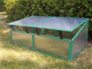 China Hot Sale Aluminium Cold Frame Mini Greenhouse RC82201A    on sale