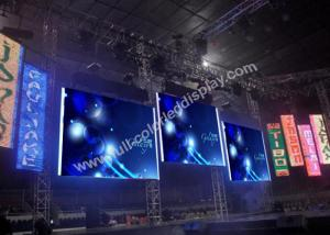 China Lightweight High Resolution Video Curved Led Display Signs Super Clear Vision on sale