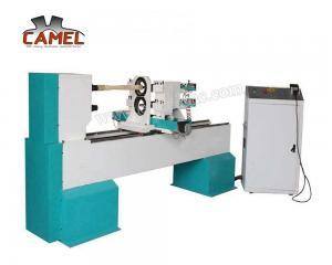 China CA-1516 CNC Wood Turning Lathe/wood lathe machine for base ball bat making on sale
