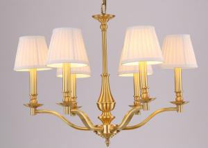 China Housing Estates Chandelier Modern Lighting 6 Heads Electroplating on sale