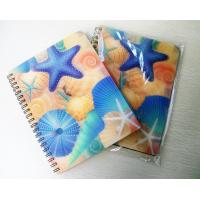 China lenticular spiral binding 3d notebook with deep 3D effect on sale