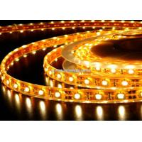 IP68 Yellow SMD 5730 Led Strip / 75W Flexible Led Strip Lights Super Bright