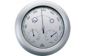 China PROFESSIONAL WIRELESS WEATHER STATION WITH THERMOMETER AND HYGROMETER ET820C on sale