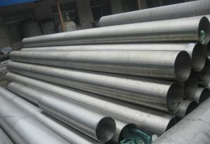 China Hot Finished Incoloy Alloy 800ht Pipe , Seamless Welded Pipe ASTM B407B514 B515 on sale