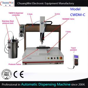 China Automated Dispensing Machine Adhesive Dispenser With Tank Easy Programming on sale