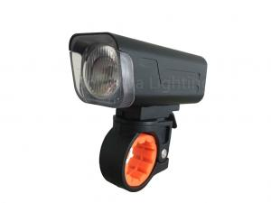 China Safety Powerful Led Bike Lights For Night Road Riding , 11 Hours Runtime on sale