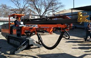 China Crawler Hydraulic Rock Drilling Jumbo , Top Hammer Hydraulic Rock Drilling Jumbo on sale