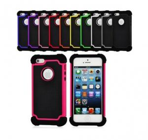 China Shock Proof Defender Heavy Duty Hard Iphone Protective Cases , Iphone 5 5S Cover on sale