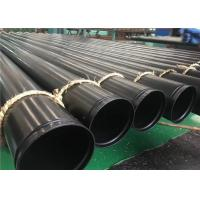 Fire System Grooved ERW Steel Pipe ASTM A795 GR.A, GR.B, GR.C With Red Or Black Painting