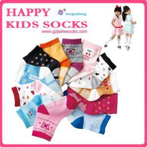 China baby cotton socks pattern child socks,cartoon tube sock on sale