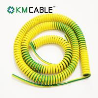 China General Curly Mains Cable , Flame Retardant Cold Resistant Power Cable Wire on sale