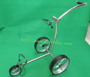 China 2014 Elegant smart push golf cart golf trolley on sale