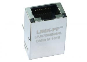 China 1840718-6 Gigabit  RJ45 Female Connector With LED LPJK7003B98NL For Embedded Board on sale