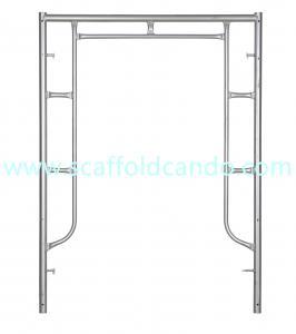 China Scaffolding steel walk through frame Mason frame door frame ladder frame 914*1700mm,914*1524mm, 1219*1700mm BS1139 on sale