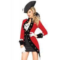 Pirate Costumes Wholesale Sexy Red Coat Costume Wholesale from Manufacturer Directly carnival Costumes