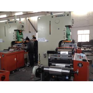 China High speed Take Away Aluminum Foil Container Machine / Aluminum Foil Test Roll on sale