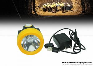 China Water - Proof 10000lux High Beam Cordless Coal Mining Lights 3.9ah Rechargeable Battery on sale