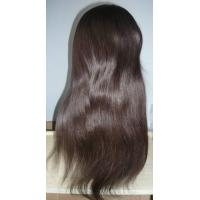 China ALL hand tied 100% Human Hair french Lace Wig on sale